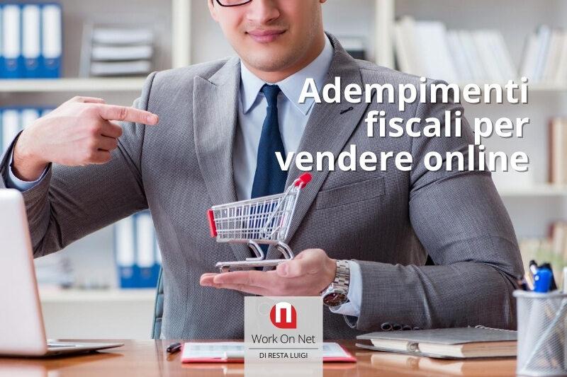 adempimenti fiscali per vendere online